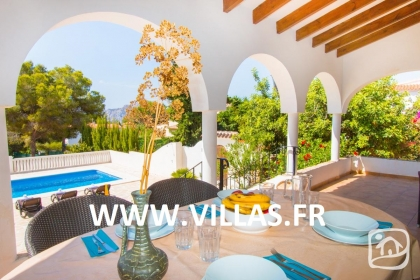 Rental villa  swimming-pool AB CALIF 4