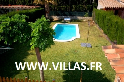 Location villa  piscine CP ELISABETH 10