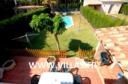 Location villa  piscine CP ELISABETH 3
