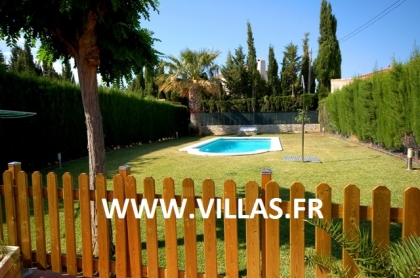 Location villa  piscine CP ELISABETH 8
