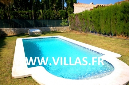 Location villa  piscine CP ELISABETH 4