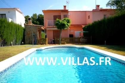 Location villa  piscine CP ELISABETH 2