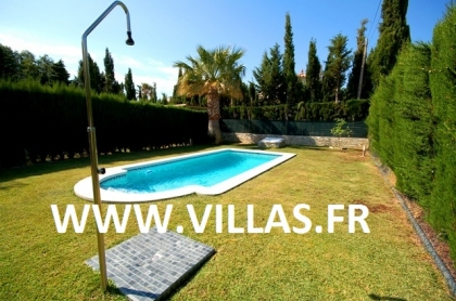 Location villa  piscine CP ELISABETH 5