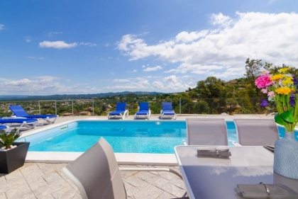 Location villa  piscine CV MAX 12