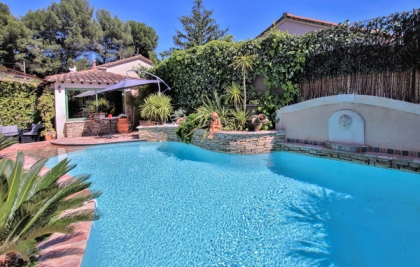 Location villa  piscine FLG-ROB416 3