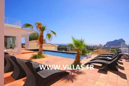 Location villa  piscine OL MODER 2