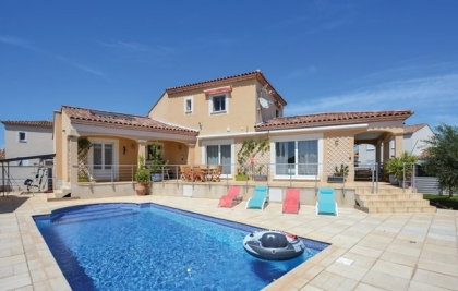 Location villa  piscine FLG-ROB475 1