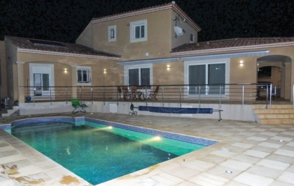 Location villa  piscine FLG-ROB475 4