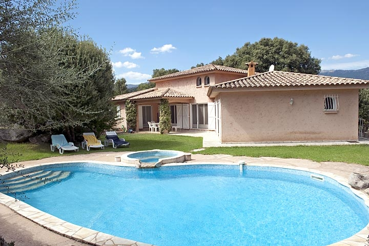 Location villa piscine porto vecchio 6 personnes dp pigna - Location maison normandie piscine ...