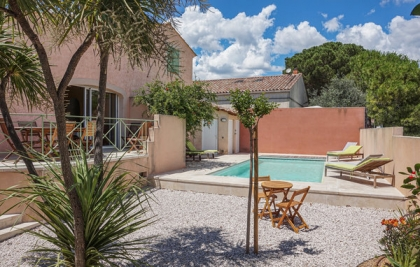 Location villa  piscine FLH-ROB311 1