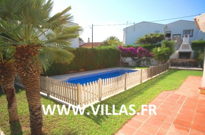 Location villa  piscine CP LUNA 13