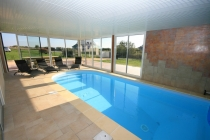 Our Villas In Brittany With Interior Private Pool.